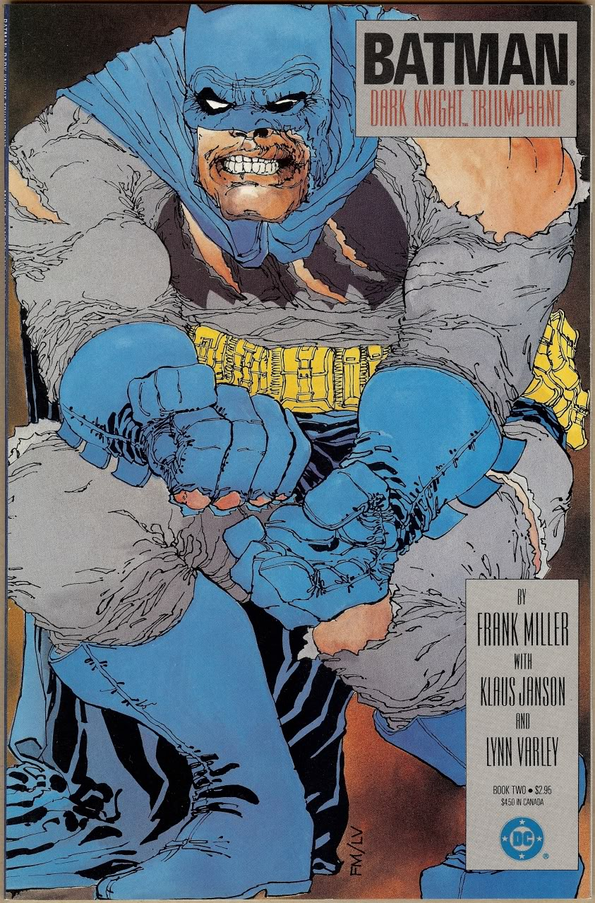 1986 Dark Knight graphic novel cover art could fetch $500k ...