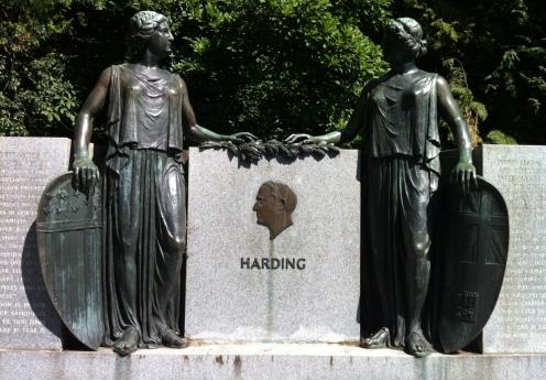 Harding Memorial in Stanley Park