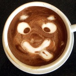Why does my dark mocha look funny? Click the image to enlarge it.