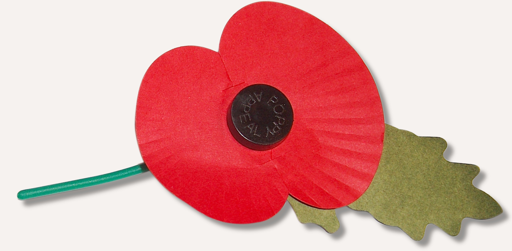 My Idea Of A Remembrance Poppy Eight Months Early Sqwabb