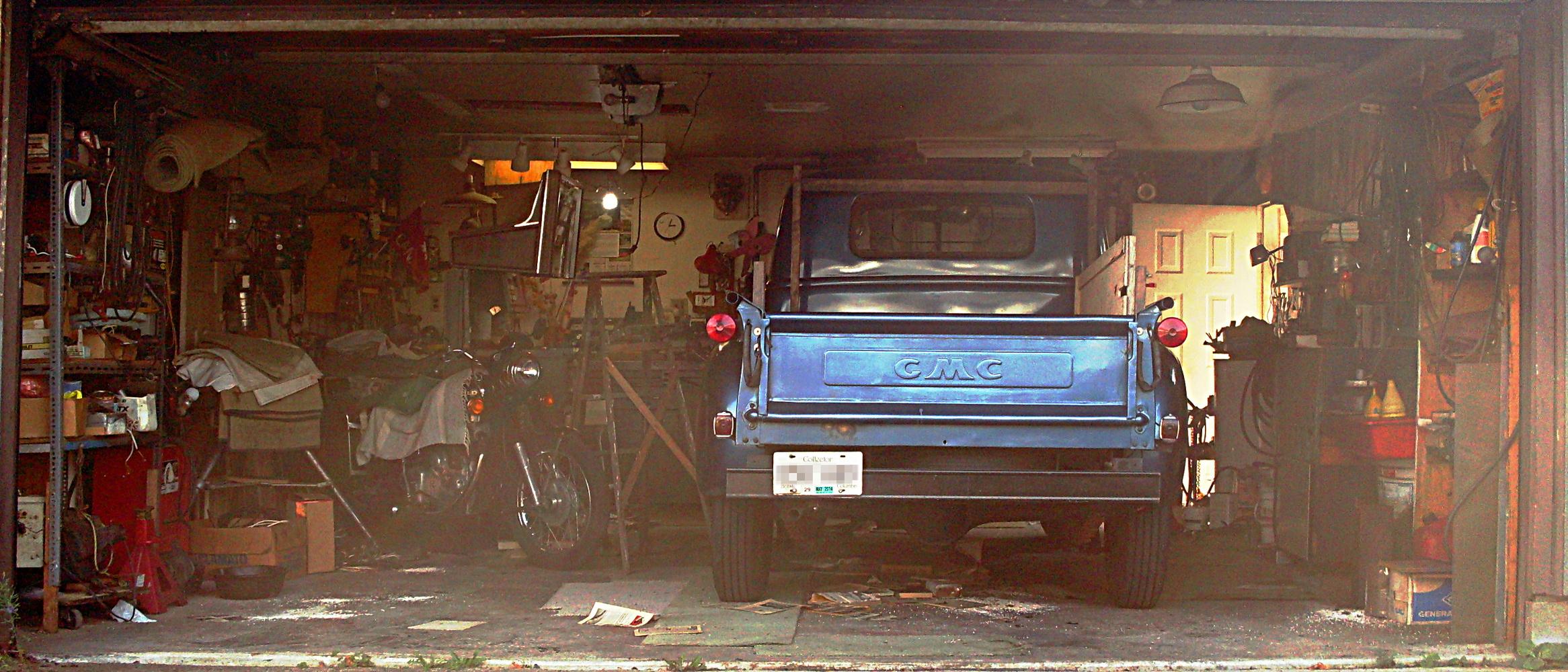 Look A Garage Still Life But Don T Touch Sqwabb