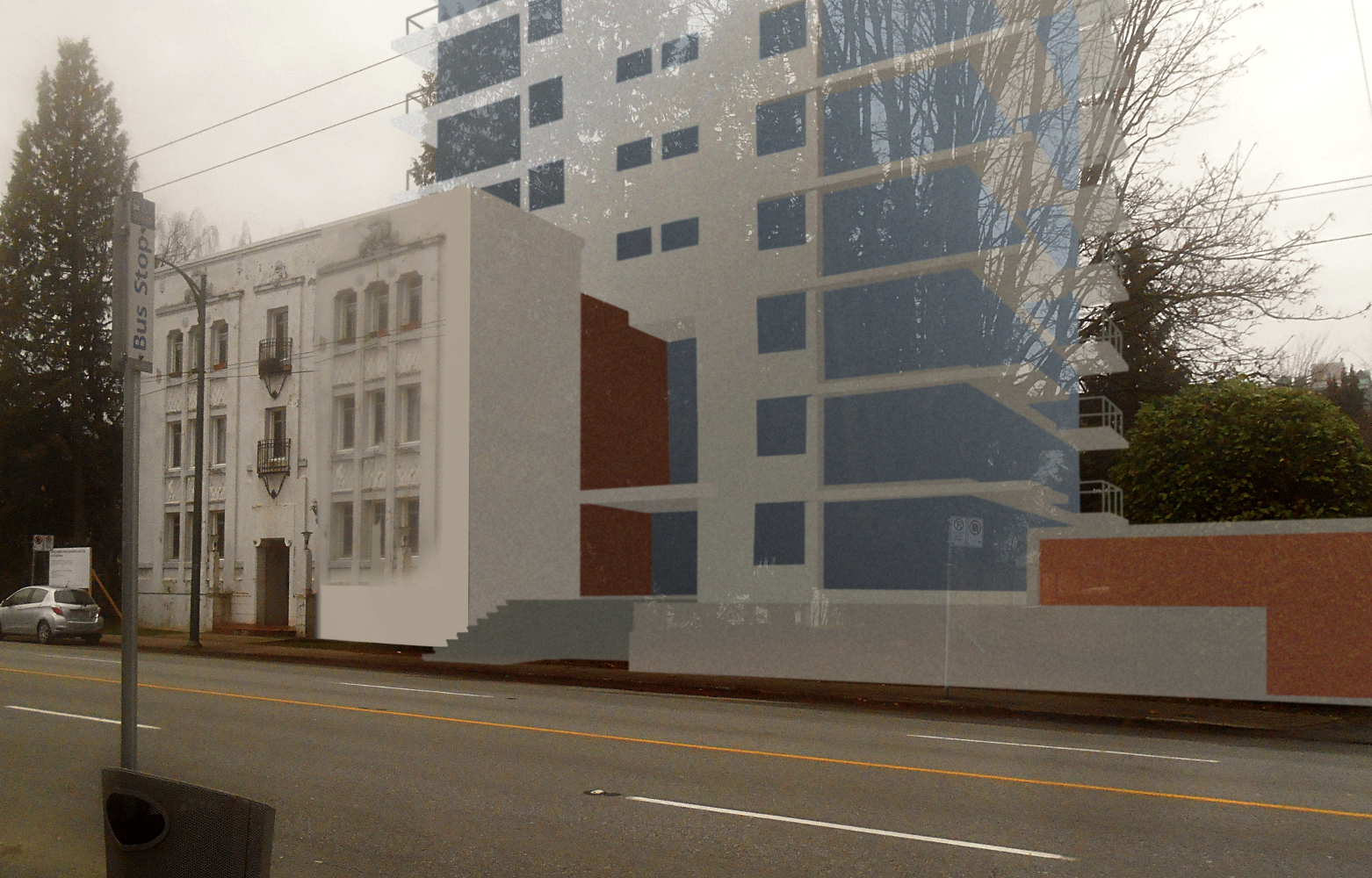 Putting up a good facade in Vancouver | sqwabb