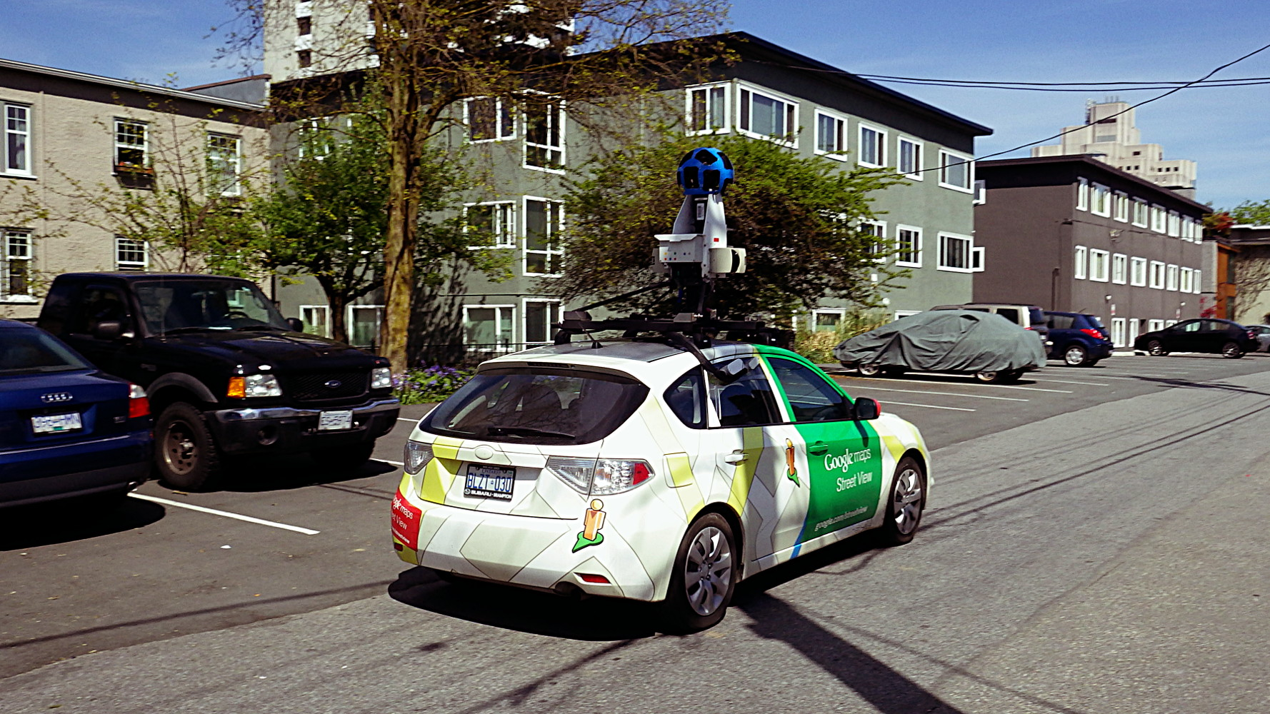 google maps street view car in fairview sqwabb. Black Bedroom Furniture Sets. Home Design Ideas