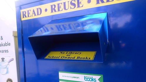 I'm told these new book dispensers are popping up all over Vancouver.