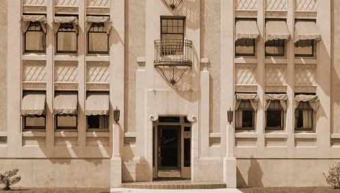 The Santa Fe, nee Van Arsdel in 1931.--  City of Vancouver Archives