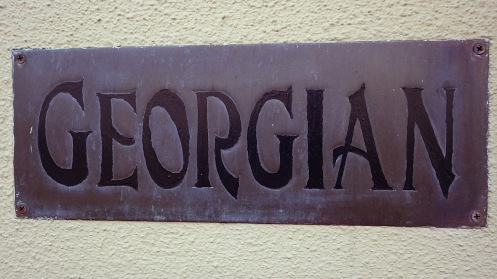 georgian-plaque