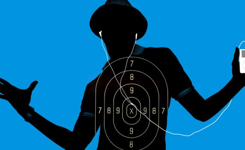 silhouette-target