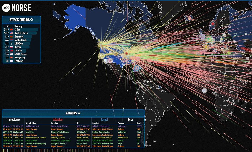 Ddos World Map | Metro Map