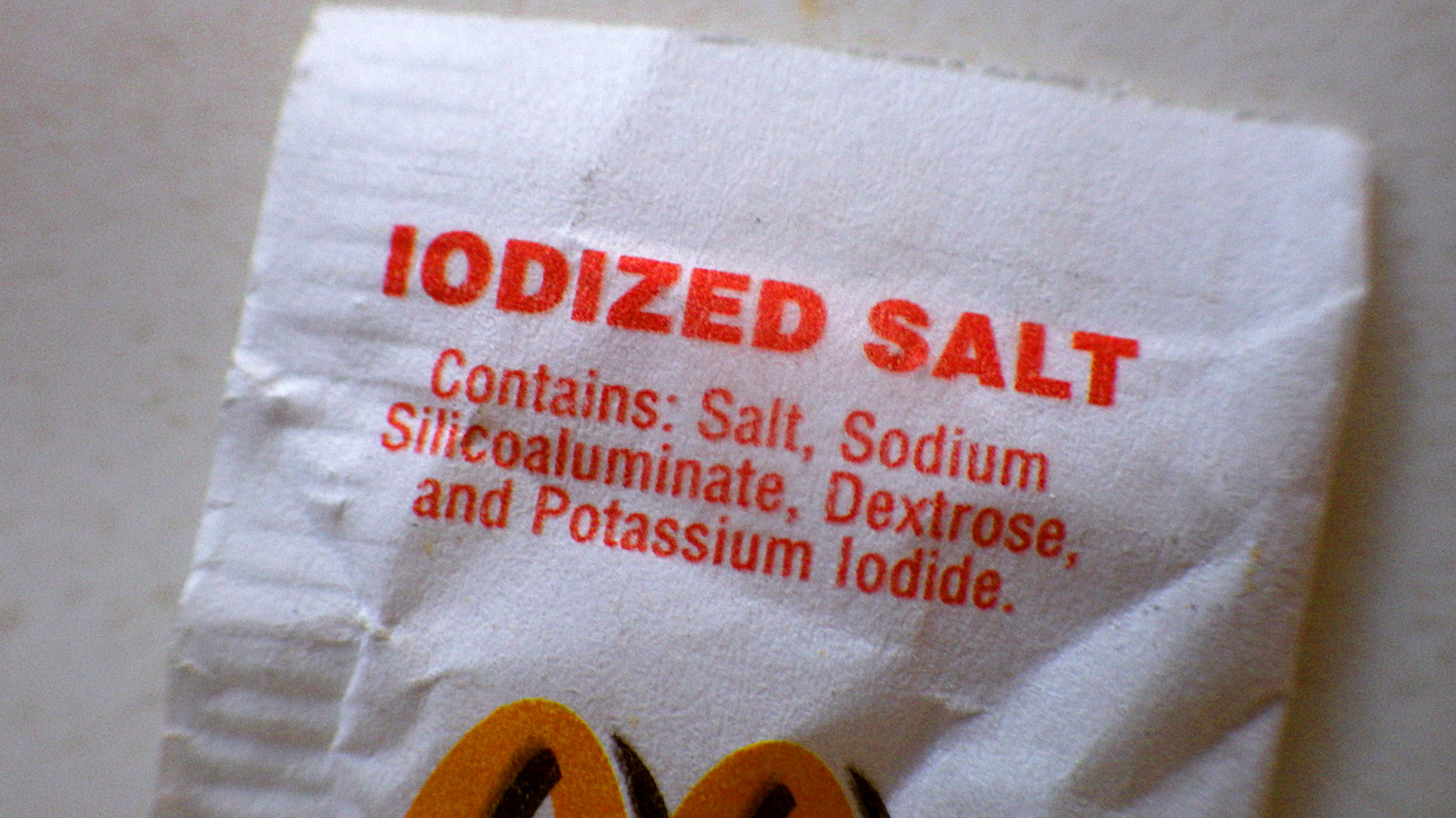 Why S There Sugar In Table Salt Because Of The Iodine Why S There Iodine Sqwabb