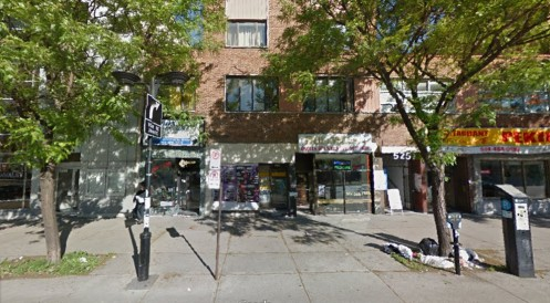 Where Google thinks I am: Queen Mary Road, Montréal, Quebec.