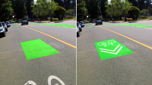 What I saw on July 21 (left) and what I expected the city to do (right).