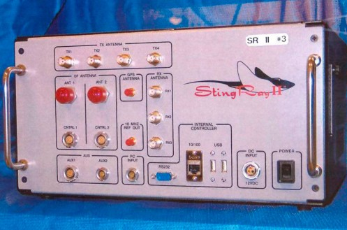 A Harris Corporation StingRay II-brand IMSI catcher.