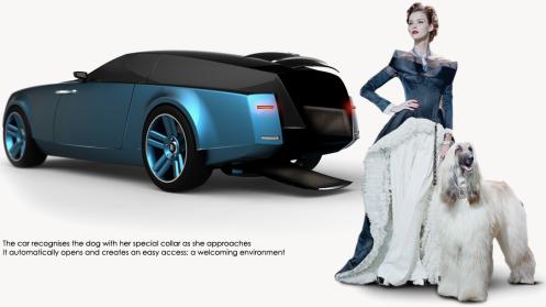 The 2015 Rolls Royce shooting-brake concept. That dog won't hunt! -- Niels van Roij Design