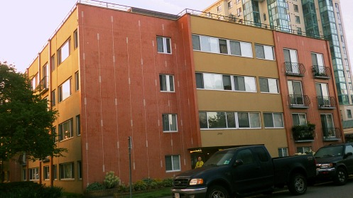 The 55-year-old apartment building at 2910 Alder Street.