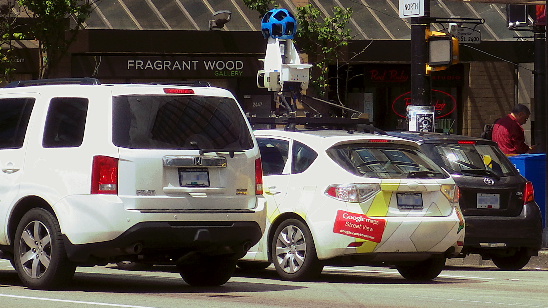 Google continues its drive to remap Vancouver streets | sqwabb on