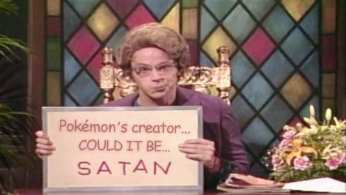 Dana Carvey's Church Lady character from Saturday Night Live.—YouTube