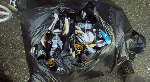 "Binners will keep taking ""garbage"" like this out of dumpsters. Stop us if you can."