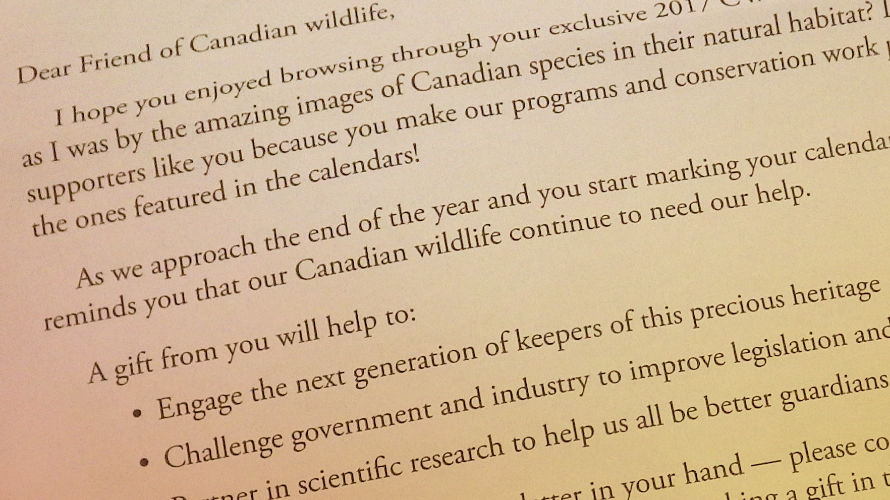 The HunterBacked Canadian Wildlife Federation Charity Is A Wolf In