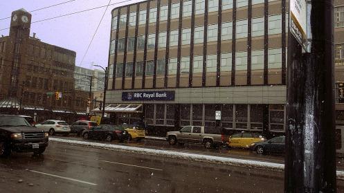 The snowfall, part 2, at 12:26 p.m.
