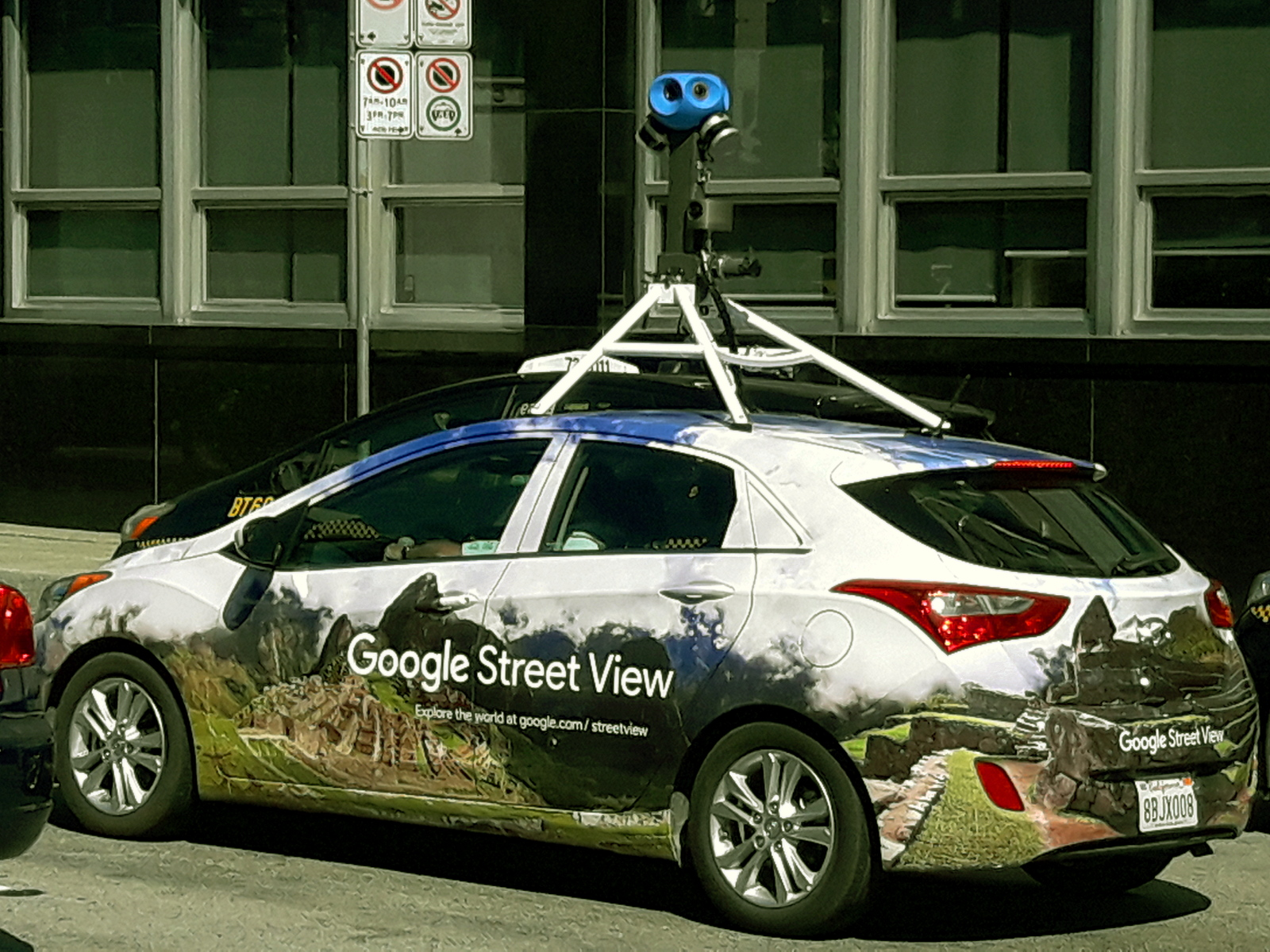 smile the google street view car is back in vancouver. Black Bedroom Furniture Sets. Home Design Ideas